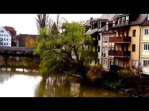 Beautiful Nuremberg City in Europe