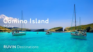 Comino Island | Walking tour in 4K [2019]