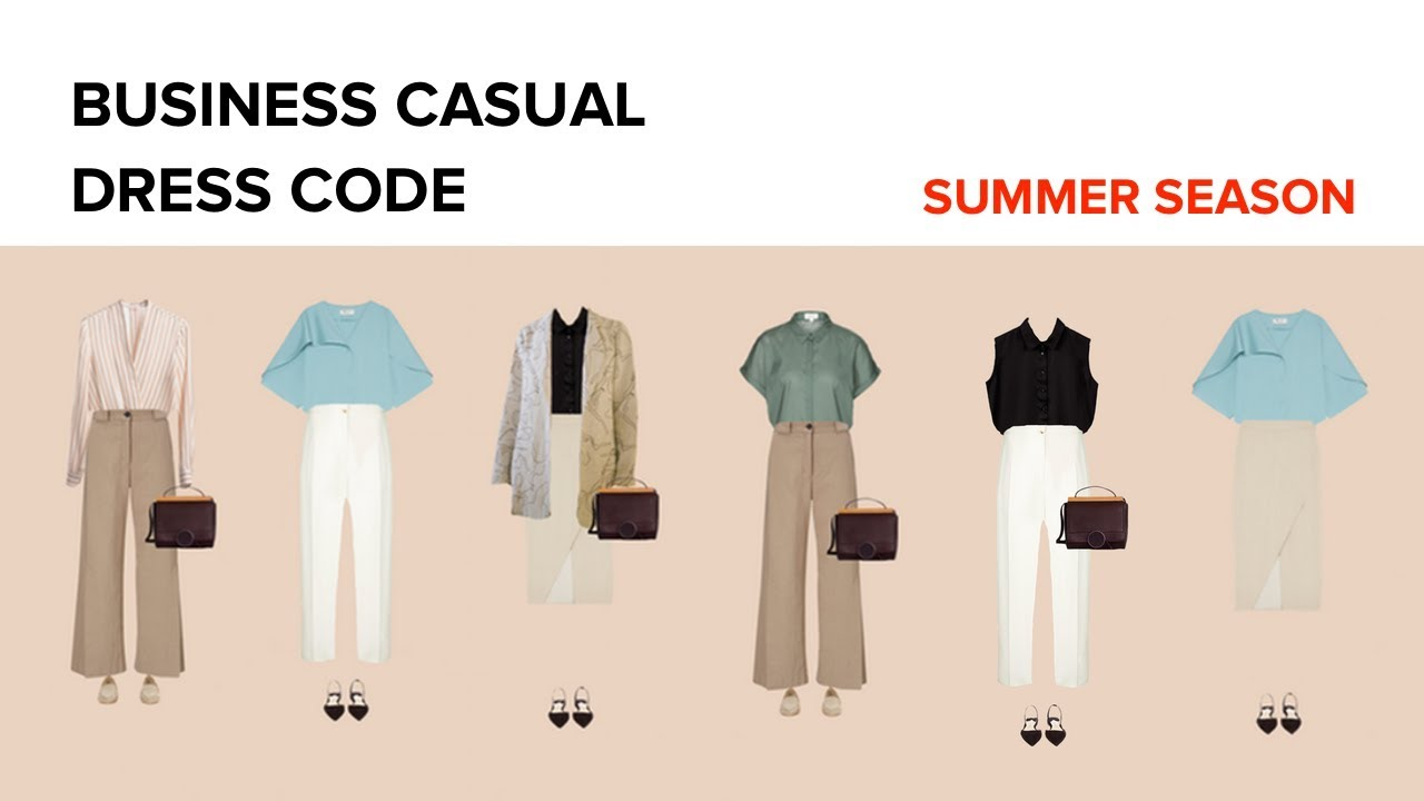 The Business Casual Summer Wardrobe