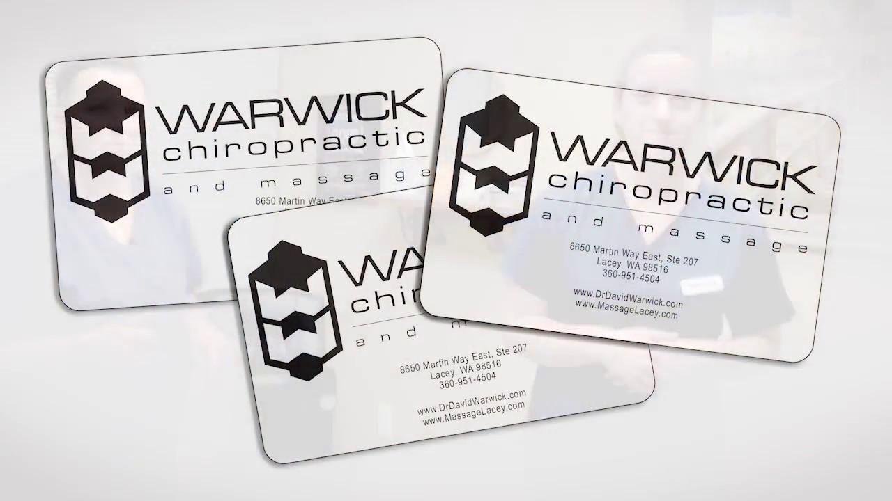 Warwick Chiropractic & Massage Gift Cards - YouTube