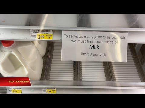 Đi mua thực phẩm thời dịch bệnh corona ở Mỹ (VOA)