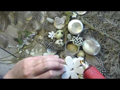 Voorjaarstaart in monochroom tint