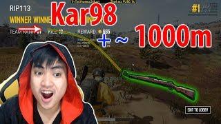 Bắn K98 khoảng cách gần 1000m l Snake phá game l 10 kills