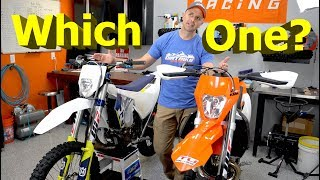 Husky vs KTM EFI 250 2 Strokes | Which did I like better?