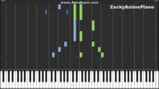 White Album 2 ED3 - Sayonara no koto - Synthesia (Piano) (ZackyAnimePiano)
