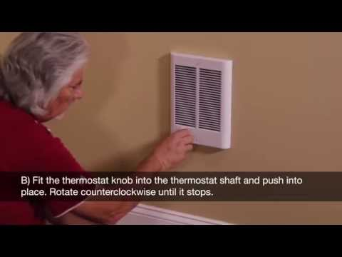 FFC- Electic Fan Forced Wall Heaters - YouTube on