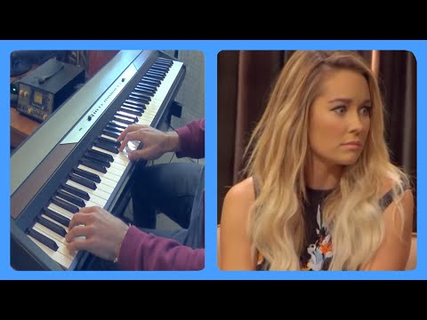 Lauren Conrad Part 1 (The Eric Andre Show) Piano Dub