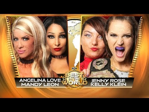 Roh Best In The World 2020.Wwe 2k19 Roh Best In The World 2019 The Allure Vs Jenny Rose Kelly Klein