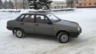 Скачать ВАЗ 21099 1991 г вып Мокрый асфальт Родной пробег 66 т км