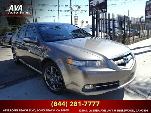 2007 Acura Tl Type S Navigation >> 2007 Acura Tl Type S With Navigation And Backup Camera Long Beach