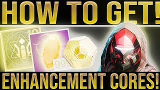 Destiny 2. EASY ENHANCEMENT CORES! How To Get/Farm Enhancement Cores, Exotics, Loot (Week 3)