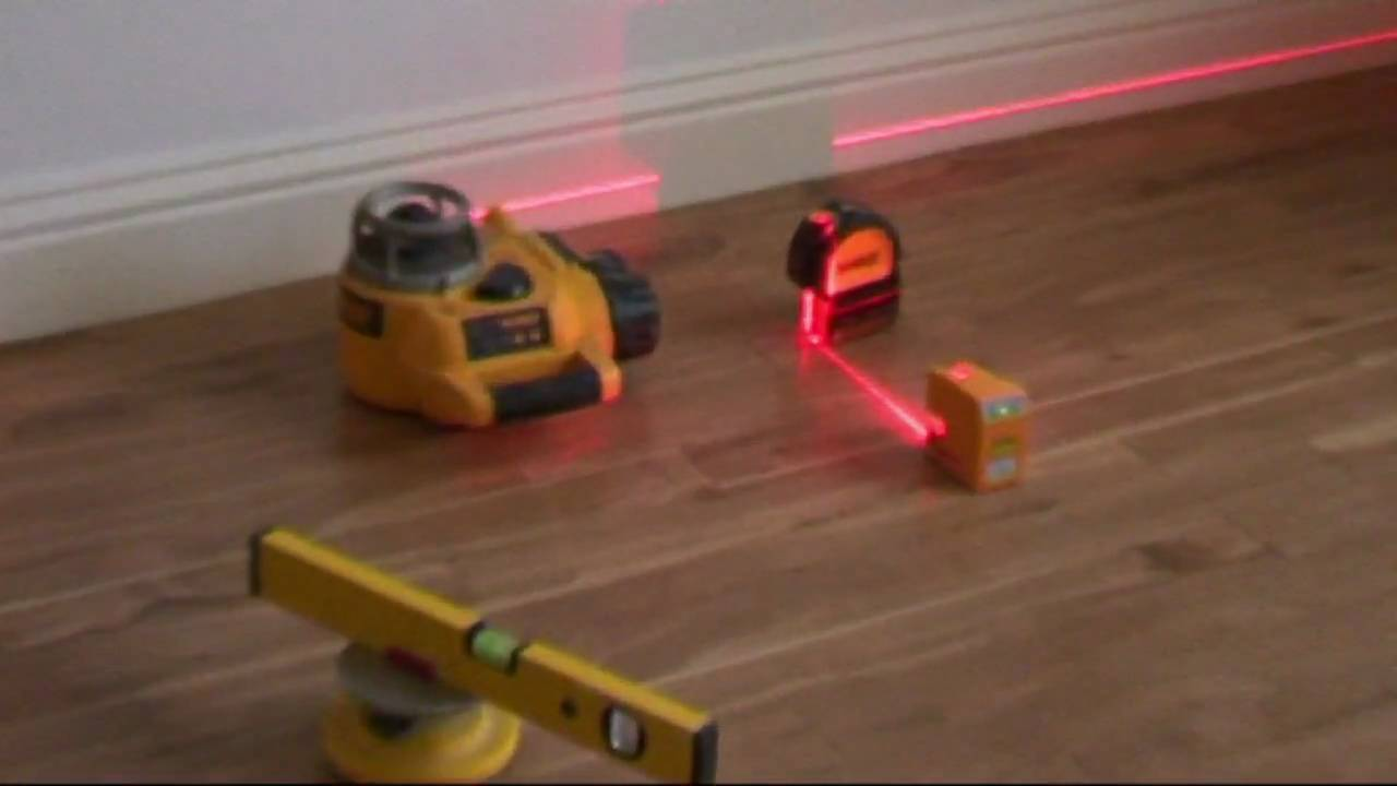 How to use a level Laser level 70