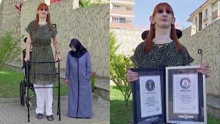 World's Tallest Living Woman Stands More Than 7 Feet Tall