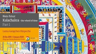 Winter retreat – Kalachakra: the Wheel of time 2019/2020 (English-Italian)