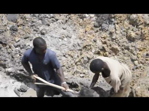 Diamond mining in South Africa