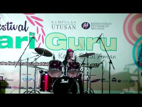 Avenged Sevenfold - Carry On LIVE Drum Cover By Nur Amira Syahira