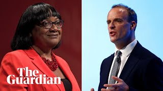 PMQs: Dominic Raab and Diane Abbott deputise for Johnson and Corbyn – watch live