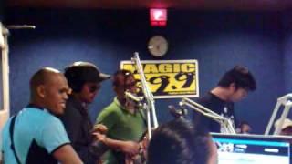 Brownbuds at Magic 89.9 Local Vocal