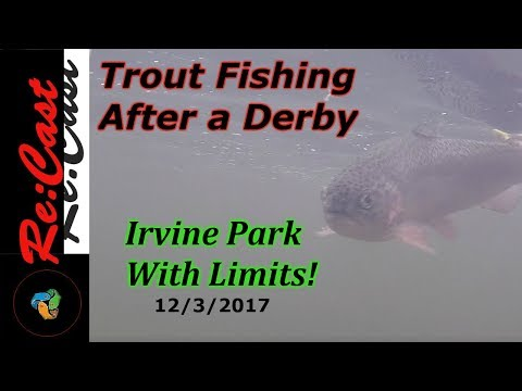 Catching Trout Limits At Irvine Regional Park Fishing Report | ReCast Fishing SoCal