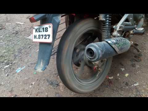 How to fire in bike silencer