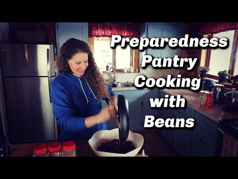 Preparedness Pantry | What to do with all those Beans? | 3 Recipes