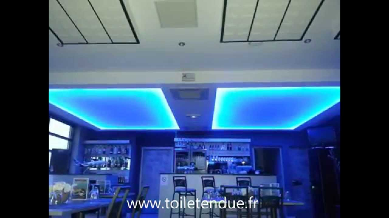 plafond lumineux plafond r tro clair youtube. Black Bedroom Furniture Sets. Home Design Ideas