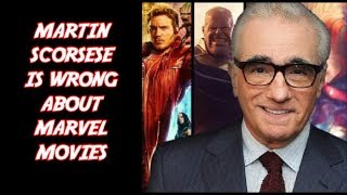 Martin Scorsese Is Wrong About Marvel Movies   Comic Geek News