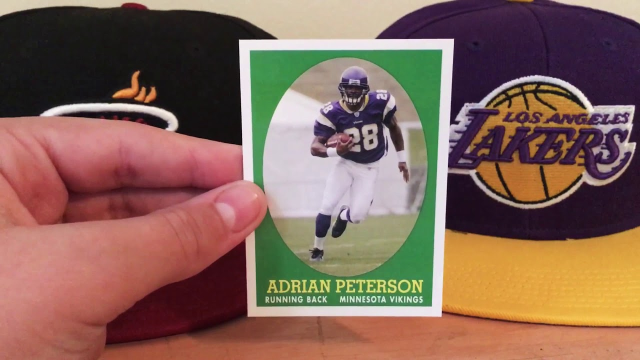 Adrian Peterson Rookie Card Review