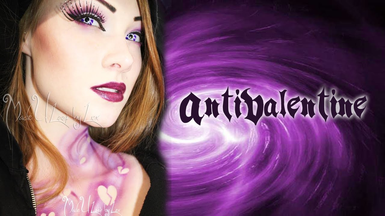 Anti Valentines Day Makeup Air Brush Tutorial Youtube