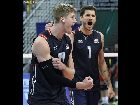 2015 USA Men's Volleyball Team..... - YouTube
