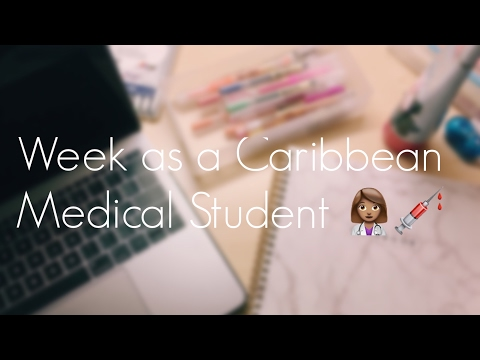 VLOG | Week as a Caribbean Medical Student