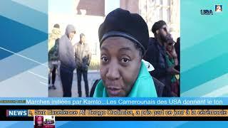 Marches initiées par Kamto... Les Camerounais des USA donnent le ton 26/01/2019