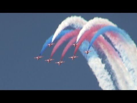 RIAT: Red Arrows Royal Airforce Aerobatic Team