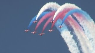 Red Arrows Royal Airforce Aerobatic Team at RIAT 2013