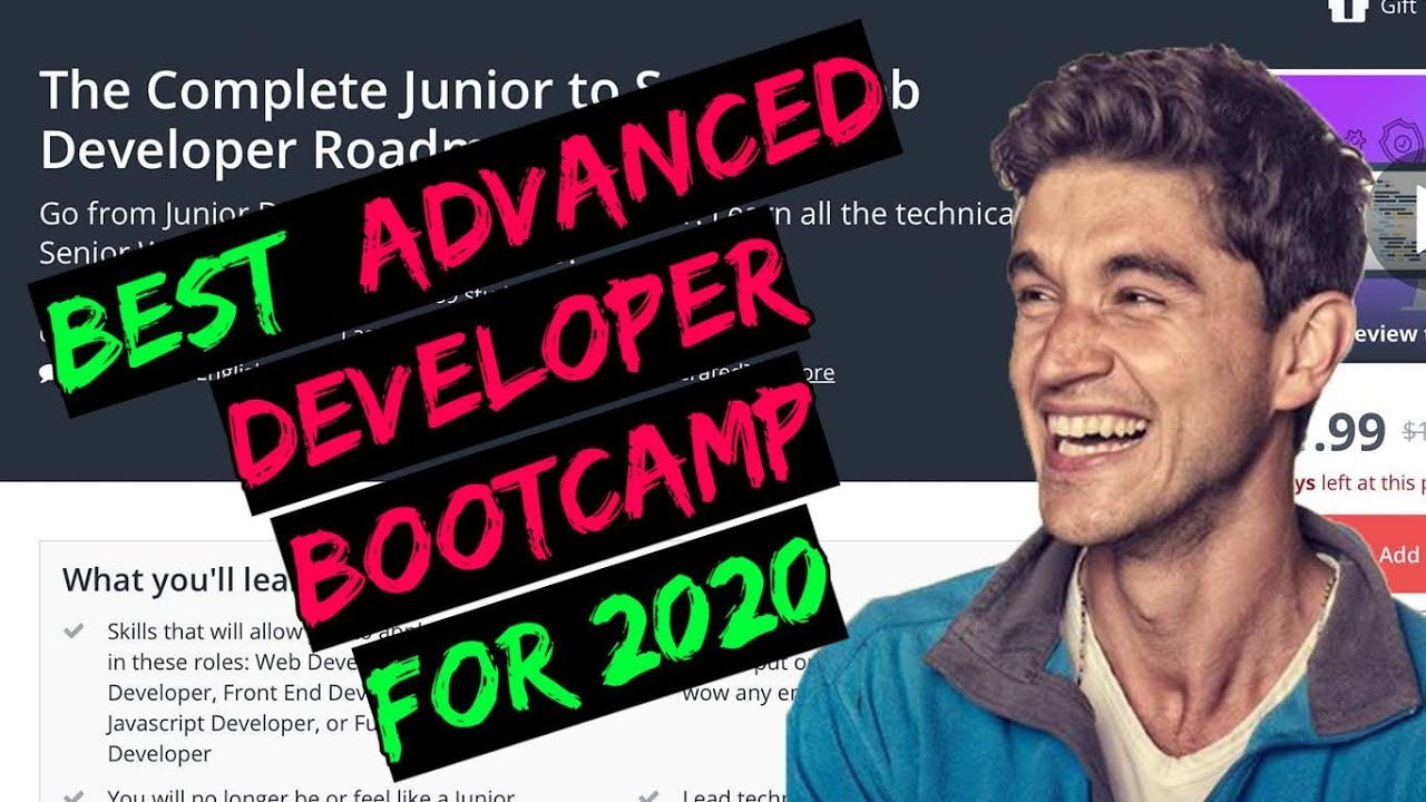 The Complete Junior To Senior Web Developer Roadmap By Andrei Neagoie Udemy Course Review Youtube