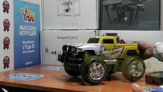 видео Радиоуправляемый джип-амфибия YED Jeep Toyota YED1601 1:10