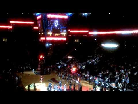 Atlanta Hawks 2012 Introductions (3/16/12)