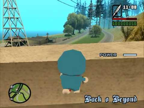 Gtasa Running Around The World W Super Doraemon Pt
