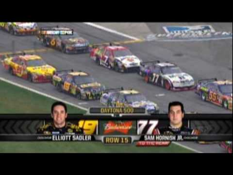2009 Daytona 500 Part 2 of 19 (Starting Grid) - YouTube