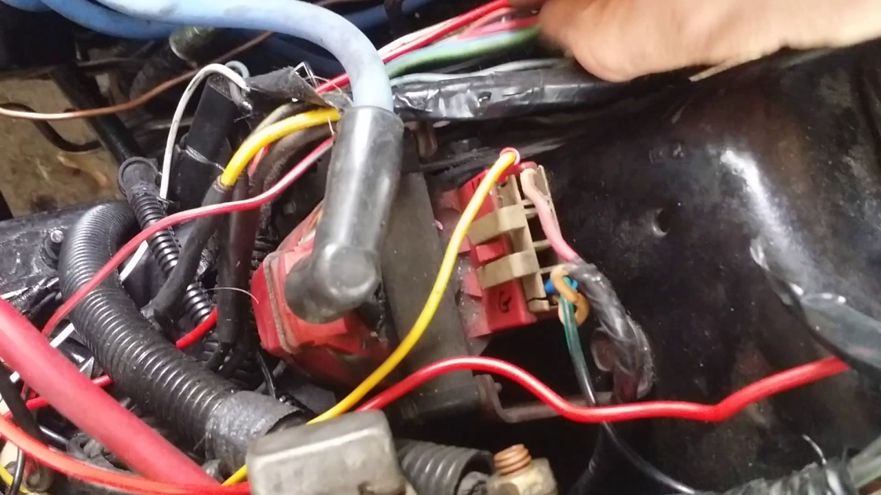 hight resolution of gibby how to get a altenator on a 91 mustang to start charging