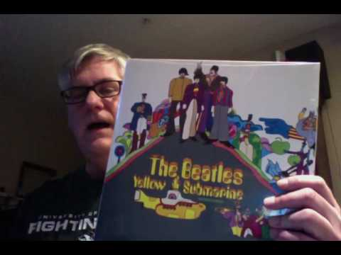 "RR 242 Beatles ""Yellow Submarine"" in order of preference."