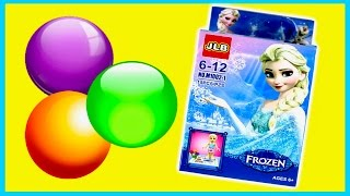 Frozen Elsa TOY & 3 Surprise Eggs DISNEY Princess Toys for girls & kids