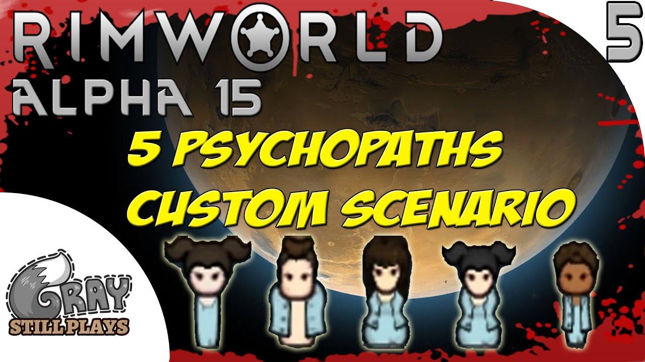 Rimworld Alpha 15 Evil Custom Scenario | Setting up the Beginner Killbox  Defense | Part 5 | Gameplay