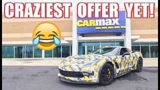 The Most SHOCKING Carmax Offer of All Time LOL.... 1,000HP Z06