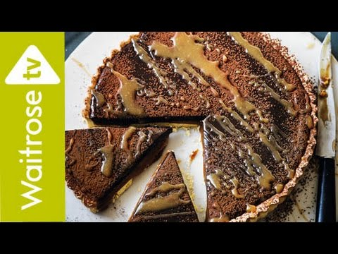 Quick Salted Caramel And Chocolate Tart | Waitrose