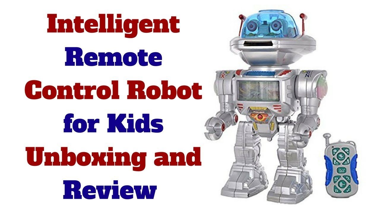 Intelligent Remote Control Robot for Kids Talking Walking Shooting Light &  Music Action | Toy Master