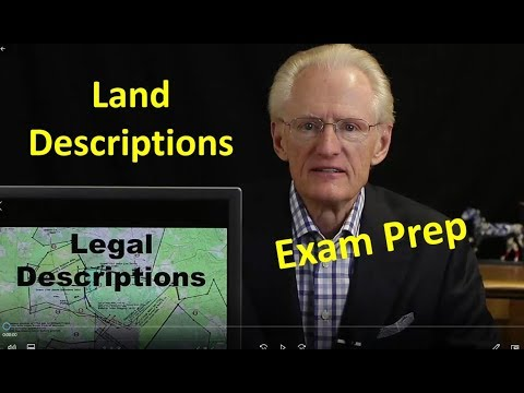 56 Land Descriptions: Arizona Real Estate License Exam Prep