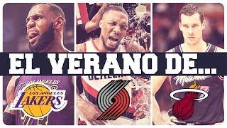 LAKERS, BLAZERS Y HEAT | GUÍA VERANO NBA 2019