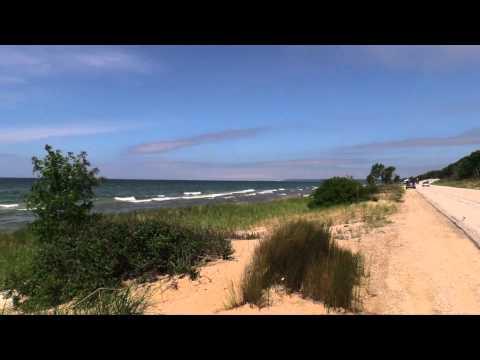 Great Lakes Shoreline Tour, Part 7 - Lake Michigan's Northern Michigan Coast