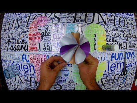 DIY Paper crafts for Kids , How to Make Beautiful Umbrella , Şemsiye , How to make origami , Origami